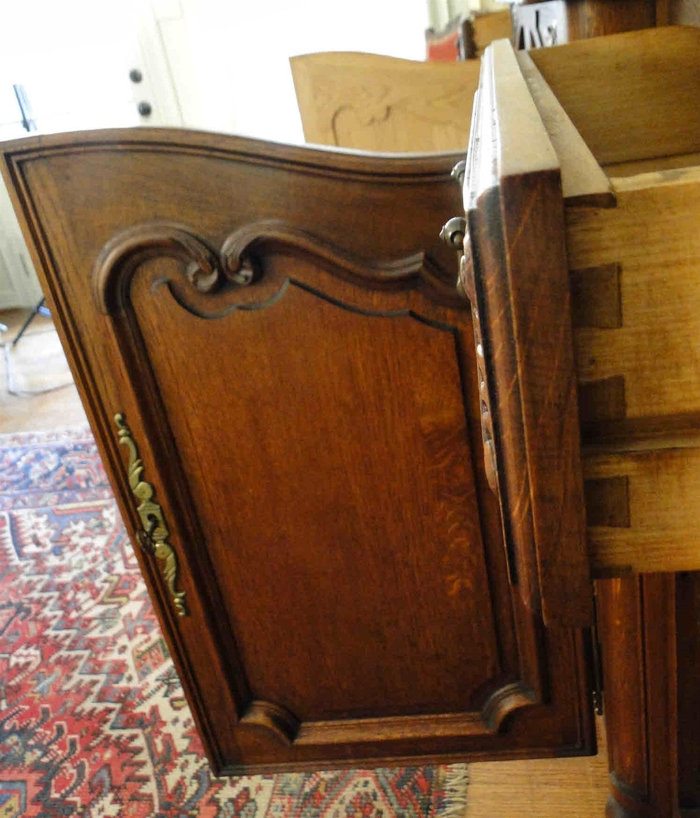French Carved Oak