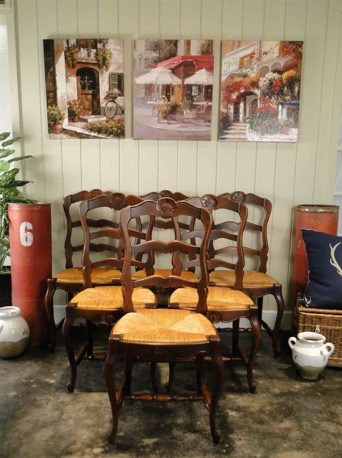 Antique French. Antique Dining. Antique Chairs