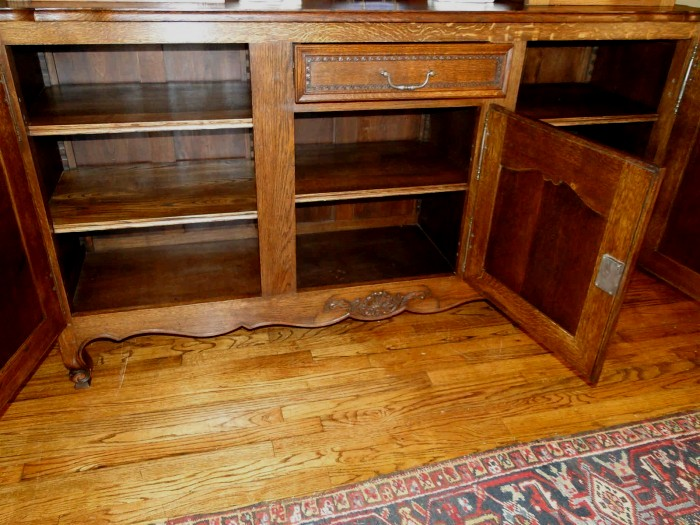 French Carved Hutch