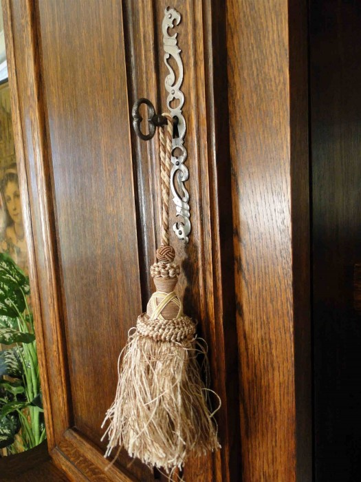 Antique Carved Hutch
