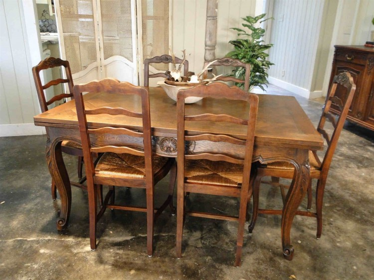 Antique French Rush Seats