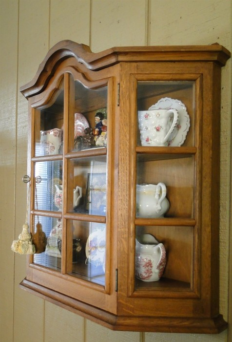 Antique Display Shelf