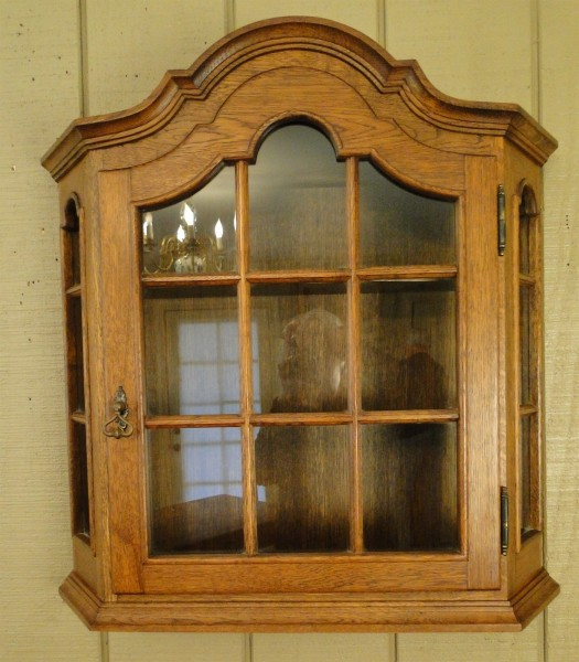 Antique French Country Curio Cabinet