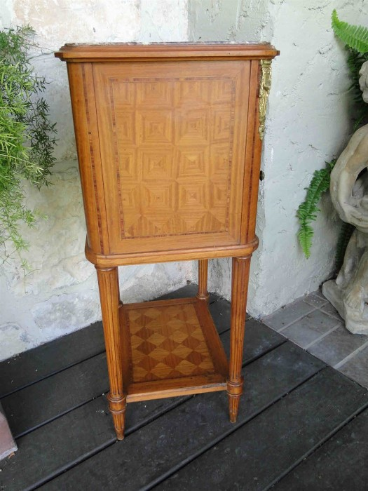 Antique Marble Night Stand
