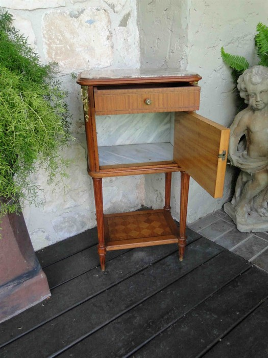 Antique Walnut Night Stand