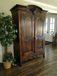 Antique French Country Armoire