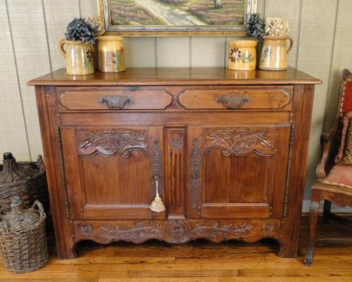 Antique French Country Buffet / Sideboard